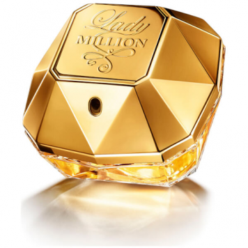 Paco Rabanne Lady Million Tester Perfume. Turn heads and shape unforgettable memories when you spray on a dash of Lady Million. First market entry in 2010 introduction by Paco Rabanne